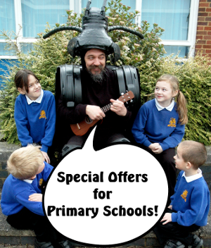 Special offers for primary schools, photo thanks to Dunchurch Primary School, Warks